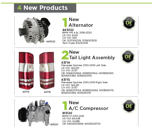4 NEW PRODUCTS