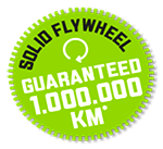 Guaranteed 1.000.000 Km*